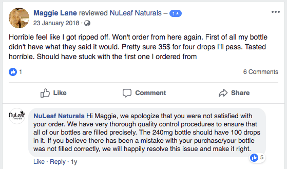 angry-nuleaf-naturals-customer