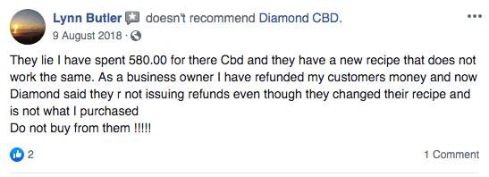 second-angry-diamondcbd-customer